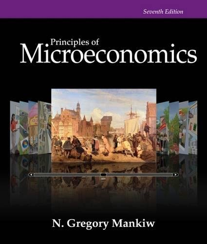 Principles of Microeconomics, 7th Edition (Mankiw's Principles of Economics) cover