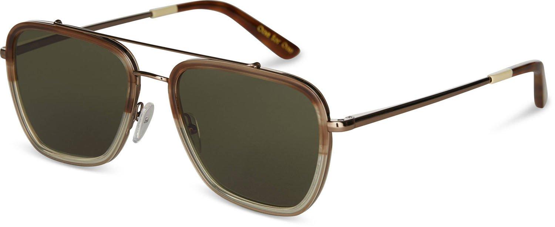 TOMS Unisex Irwin Milky Honey Fade Sunglasses