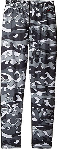 Hot Chillys Solid Bottom (Hot Chillys Kids  Boy's Midweight Print Bottom (Little Kids/Big Kids) Surf Day Medium)
