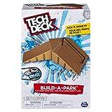 Tech Deck 20075297 Build-A-Park - Flat Ramp Grind Rail (Brown)