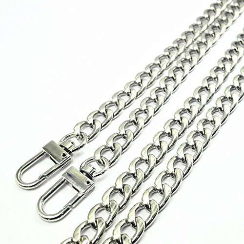 Check expert advices for silver chain strap for purse?