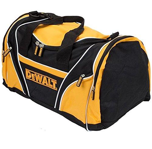 "Dewalt Tool Bag 18"" 46cm Toolbag Yellow Black Open Top DIY Gym Tools Holdall"