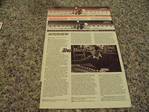 2 Iss Bantha Tracks Star Wars Fan Club # 17-18 1982 Mark Hamil, Burtt ()