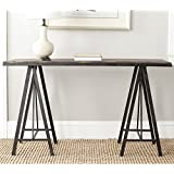 Safavieh American Homes Collection Troy Console Table, Dark Brown