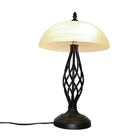 Amazon.com: LE-European Style - Lámpara de mesa de estilo ...