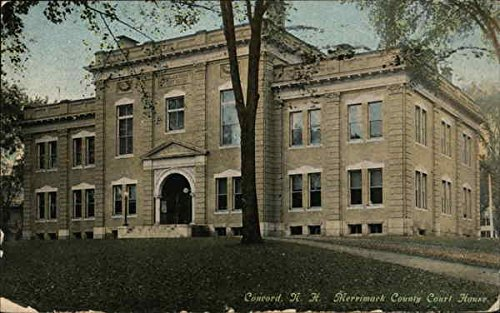 Merrimack County Court House Concord, New Hampshire Original Vintage Postcard