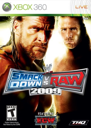 WWE Smackdown vs Raw 2009 (Wwe Raw Game)