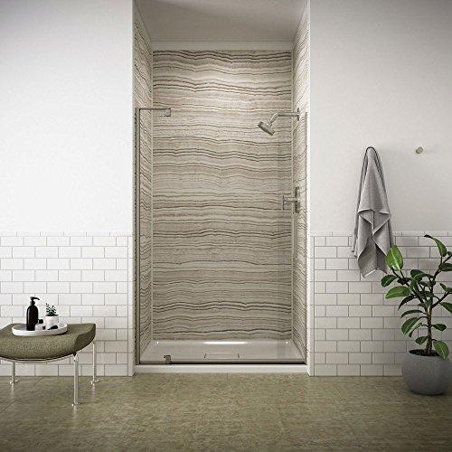 KOHLER K-707551-L-BNK Revel Pivot Shower Door with 5/16