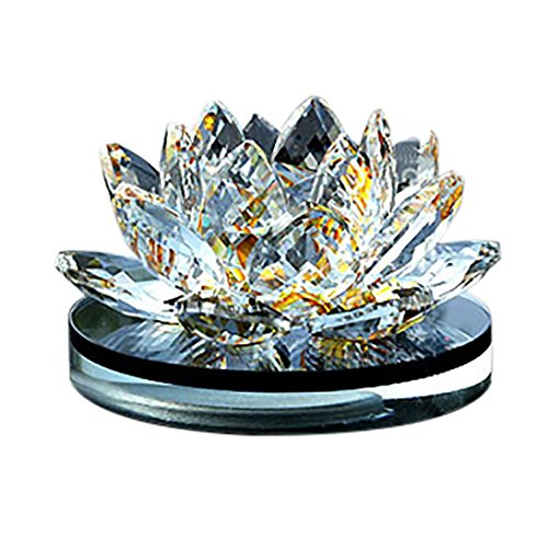 Cheap  Hot Sale!!1PC Lotus Crystal Perfume,Woaills Flower Car Aromatherapy Crystal Glass Lotus Perfume..