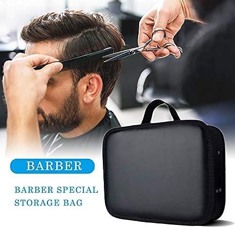 Estuche para herramientas de peluquero Estuche para herramientas de peluquería Organizador para tijeras de podar Tijeras y suministros, Exhibidor de viaje portátil y accesorio de almacenamiento Estu: Amazon.es: Deportes y aire libre