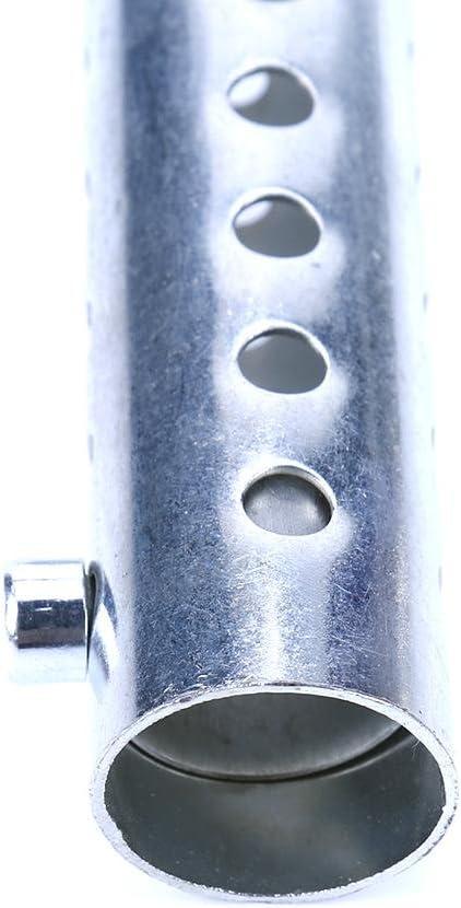 Starnearby Auspuffrohr Universal Motorrad Endschalld/ämpfer Db Killer Rohrschalld/ämpfer 35mm