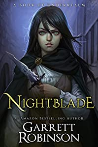 Nightblade by Garrett Robinson ebook deal