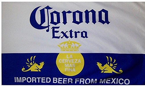 Corona Extra Beer Flag 3' X 5' Deluxe Indoor Outdoor Banner