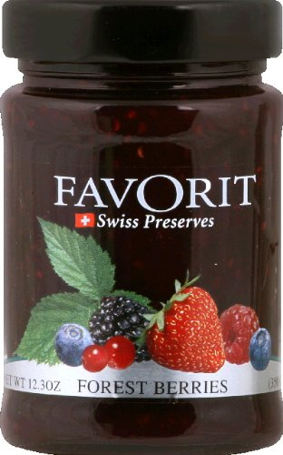 Favorit Preserves, Berry, 12.30-Ounce (Pack of - Cherry Red Favorit