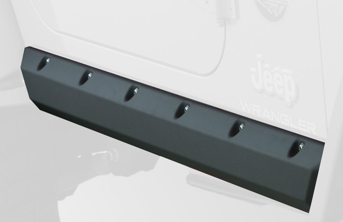 Bushwacker Jeep Trail Armor Pocket Style Rocker Panel Pair 14008