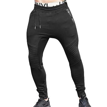pantalones hombre chandal, Sannysis Pantalones deportivos para hombre Pantalones Jogger Hombre Deportivos Joggers Pantalón para hombre Casuales Largos ...