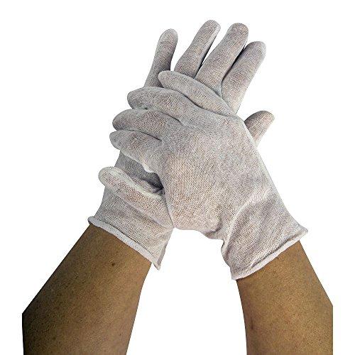 San Jamar IG100 Waiter's Glove, White (Pack of (Commercial Safe White Glove)