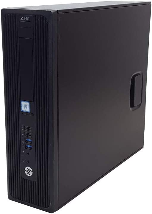 HP Z240 SFF Gaming Workstation Computer Desktop, Intel Core i5-6500, 16GB DDR4 RAM, 256GB SSD & 2TB HDD, USB 3.0, NVIDIA Geforce GT 1030 2GB, HDMI, Display Port, WiFi + BT 4.0 Windows 10 Pro (Renewed)