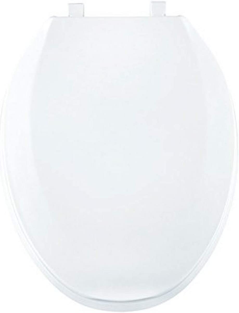 Centoco 800tm 301 Plastic Elongated Toilet Seat With Closed Front Crane White Amazon Com