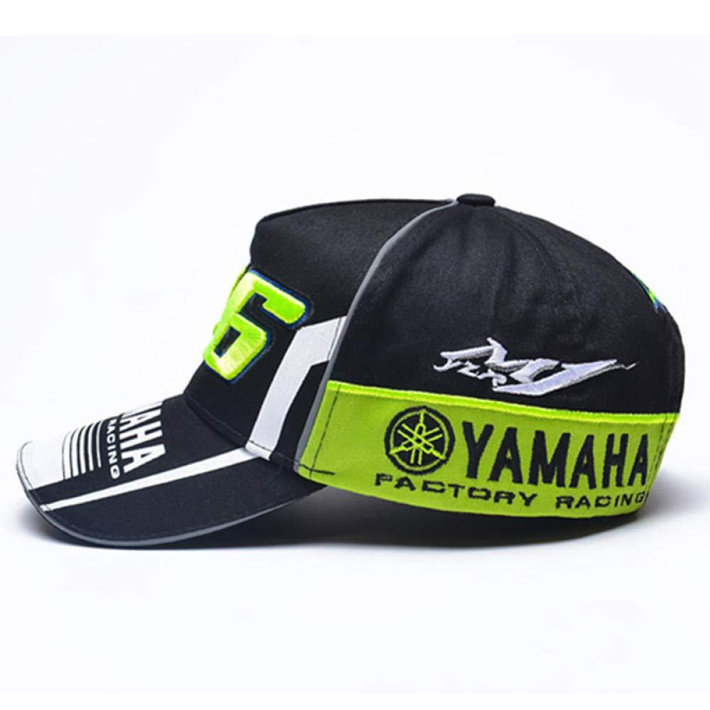 Nueva Yamaha 46.o Modelo al Aire Libre se Divierte la Gorra de b/éisbol del Bordado de la Letra Exquisita