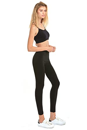 88a29ecb07032 Sofra Women's Seamless Fleece Lined Leggings at Amazon Women's ...