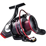 KastKing Sharky II Waterproof Spinning Reel - Carbon Fiber Drag Up To 41.5 LBs - Enhanced Brass Gear and Power Launch Spool