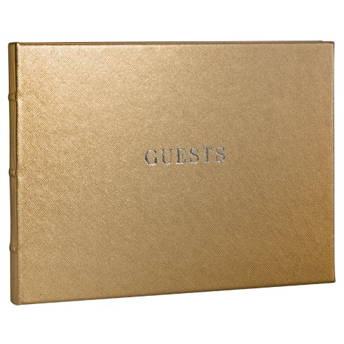 POST Guest Book Saffiano 6 75 Inch product image