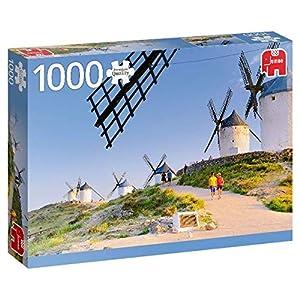 Premium Collection 18837 La Mancha Spagna Puzzle 1000 Pezzi Multicolore
