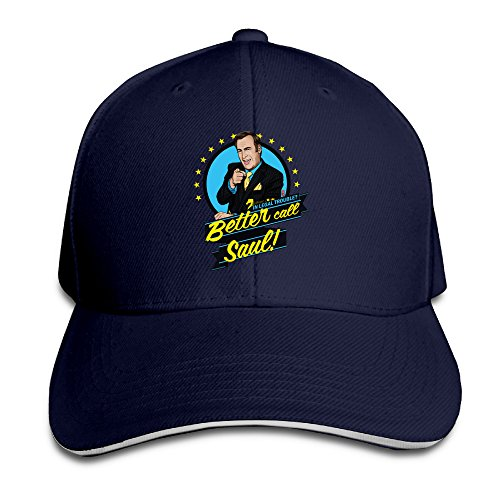 Navy Best Choice Sandwich Hat Fitted Better Call Saul For Unisex