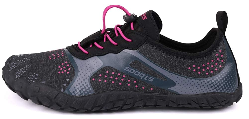JOOMRA Women Wide Quick Dry Barefoot Hiking Water Shoes
