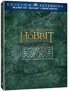 El Hobbit 2: La Desolación De Smaug Blu-Ray 3d Edición Extendida ...