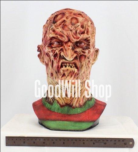 Freddy Krueger Nightmare Bust Life Size Unpainted]()