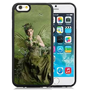 Beautiful And Unique Designed With Girl Fairy Wood Shop Green For iPhone 6 4.7 Inch TPU Phone Case