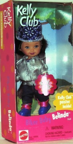 Barbie Kelly Club Biker Baby Belinda 1999 for sale  Delivered anywhere in USA