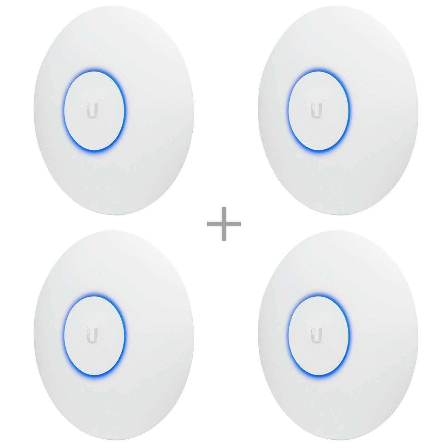 Ubiquiti Networks UAP-AC-PRO-US Unifi 802.11ac Dual-Radio PRO Access Point (4 Items) by Ubiquiti Networks