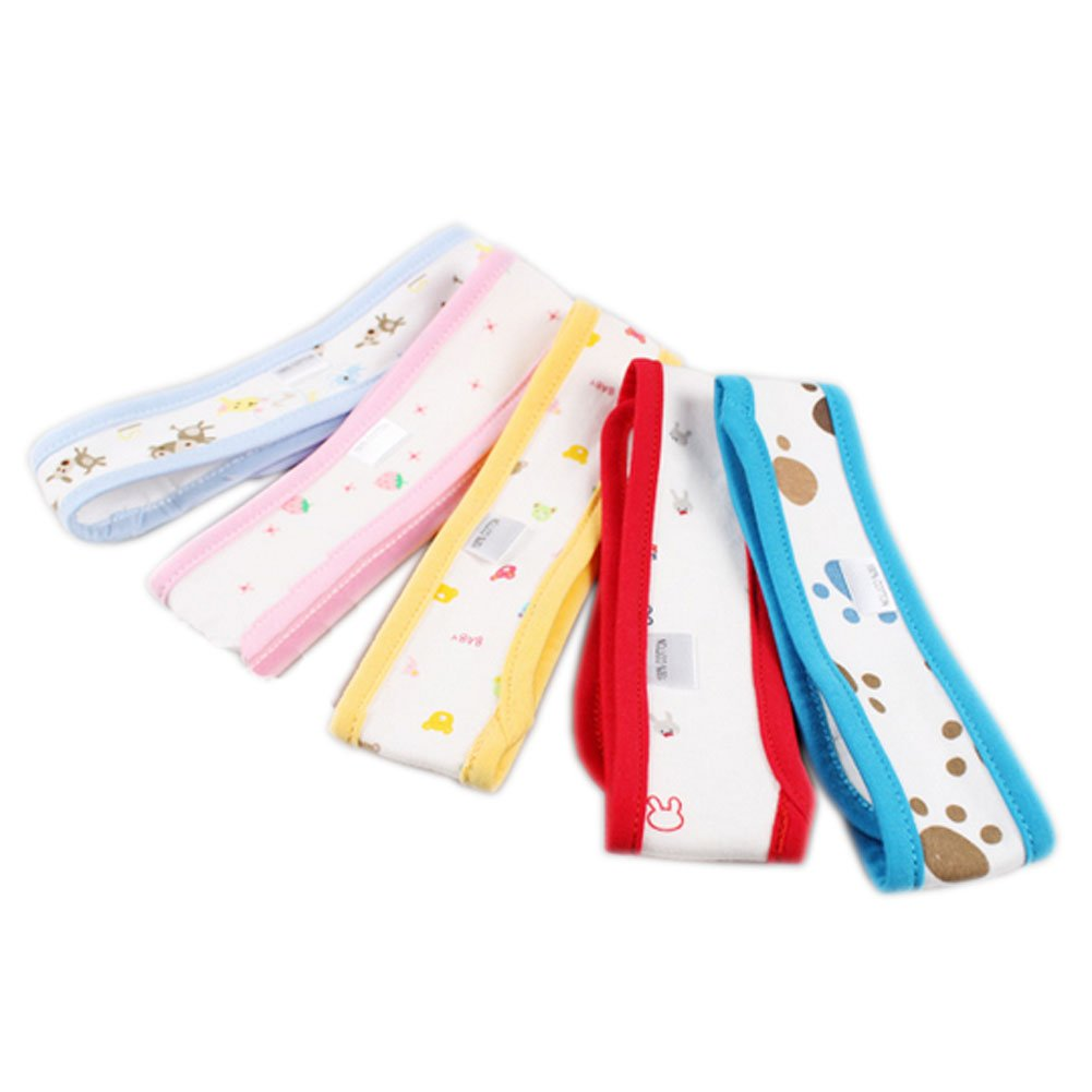 Set of 4 Infant Baby Nappy Snappi Toddler Newborn Diaper Fasteners Random Color Panda Superstore PS-BAB2681389011-CHILLY00928