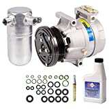 New AC Compressor & Clutch With Complete A/C Repair Kit For Chevy Olds Pontiac - BuyAutoParts 60-80377RK New