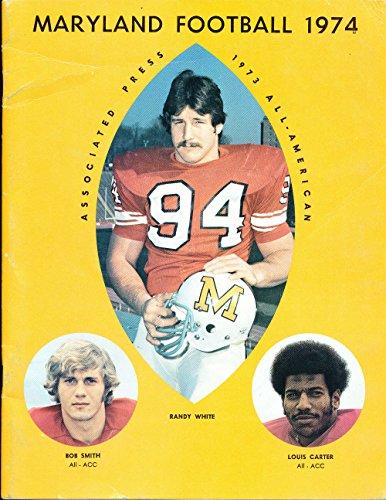 1974 Maryland Football Media Press Guide CFBmg6