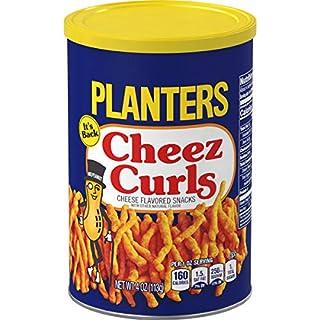 Planters Cheez Curls (4 oz Jars, Pack of 12)