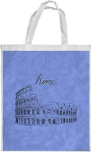 Landmarks - Colosseum Printed Shopping bag, Large Size