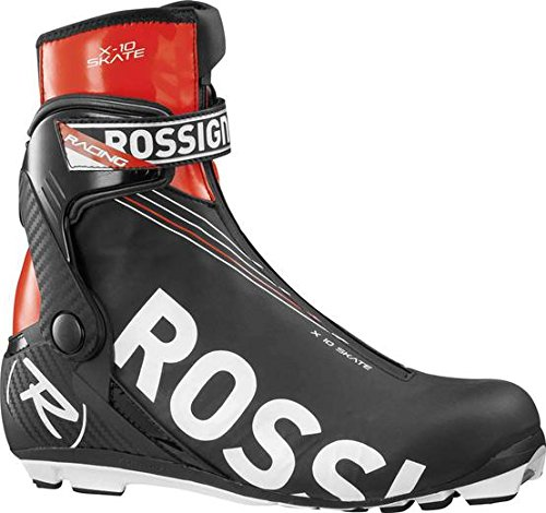 Skate Womens Ski Boots (Rossignol X10 Skate Cross-Country Ski Boots, NNN Sole, Size 40 (US Women's 8))