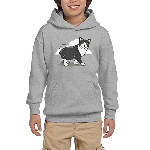 Cheap Cute Cat Boys Pullover Hoodie Athletic Pocket Sweatsuit free shipping