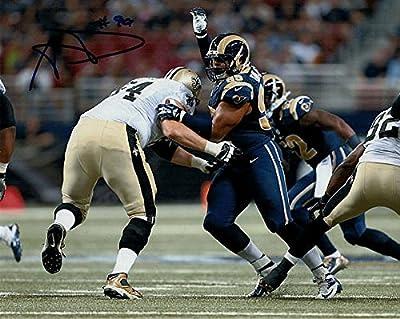 Aaron Donald Autographed St Louis Rams 8x10 Photograph - JSA Authenticated - Autographed NFL Photos
