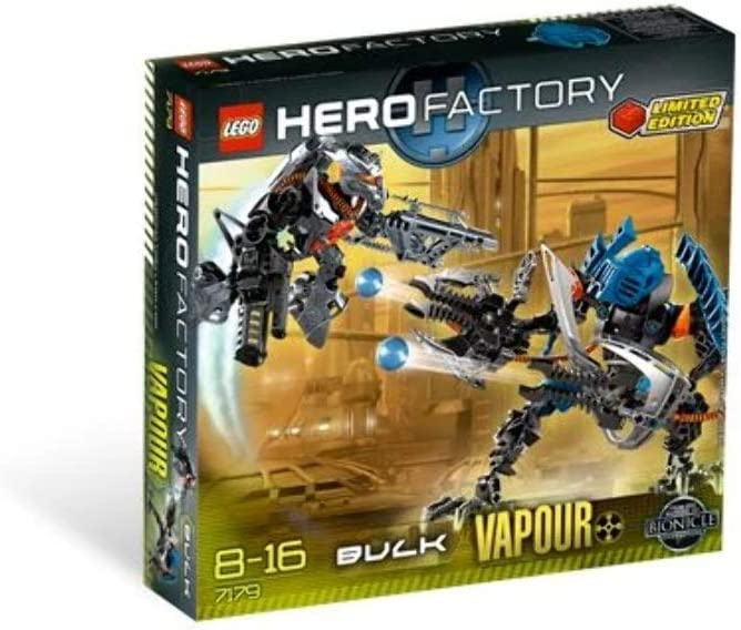 LEGO Hero Factory Exclusive Limited Edition Set #7179 Dunkan Bulk Vapour
