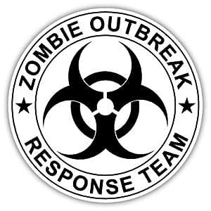 Amazon.com : Zombie Outbreak Response Team Vinyl Car ...