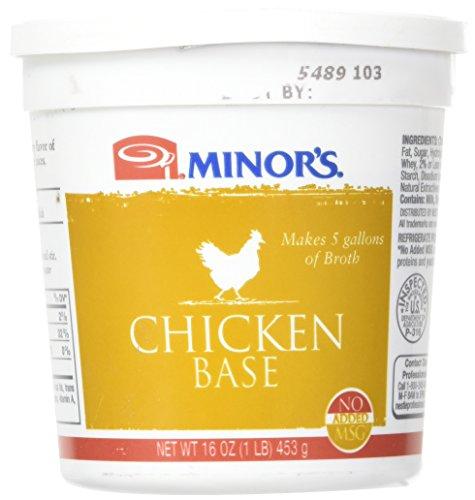 Minor's Chicken Base, Original Formula, 16 (Chicken Stock Roasted Chicken)
