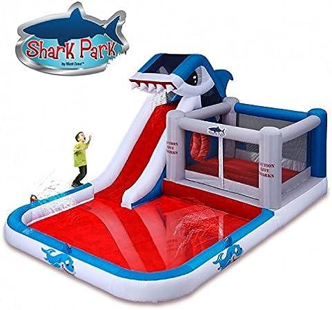 Amazon.com: Parque de tiburón inflable, parque ...