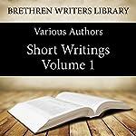 Short Writings, Volume 1: Book 19 | Hamilton Smith,F.S Marsh,Watler Scott