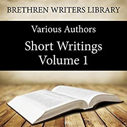 Short Writings, Volume 1