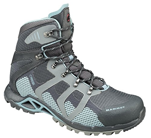 Mammut Bota comfort high gtx surround mujer black-mayan GRAPHITE/AIR